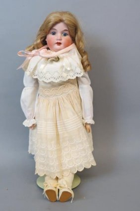 Armand Marseille Bisque Head Doll,