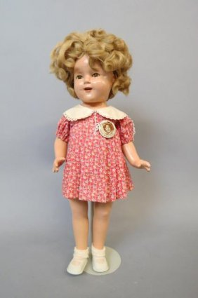 Shirley Temple Compostion Doll,