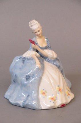 "Royal Doulton Figurine ""wistful"","