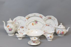 "53 Pcs. Rosenthal ""classic Rose"" China Service,"