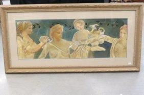 Jennifer Dreznin Oil Painting Of Classical Maidens