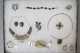 Lot Of Sterling Silver Jewelry,
