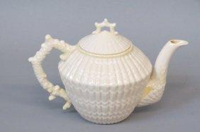 Irish Belleek Porcelain Teapot,