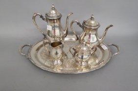 "Silverplate Tea & Coffee Service ""camille"""