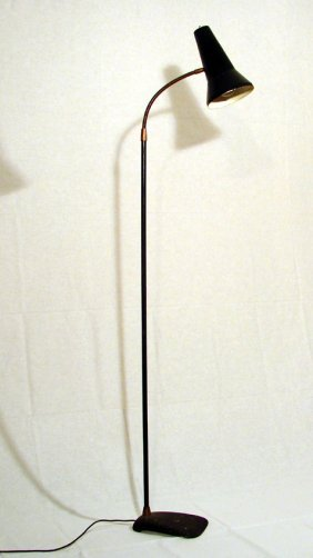 Floor Lamp Stilux Milano, 1950 Ca.
