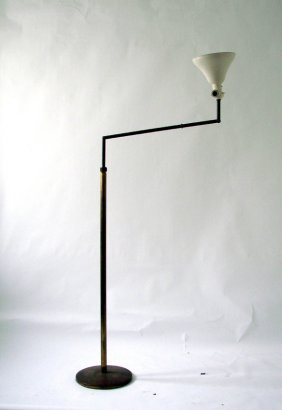Floor Lamp Angelo Lelii, Prod. Arredoluce, 1950 Ca.