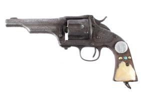 Merwin Hulbert 3rd Model Engraved 44-40 Revolver