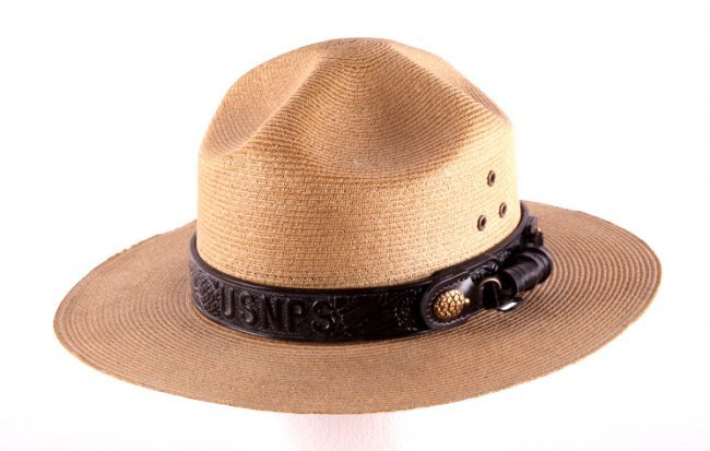 National Park Service Hat With Band This Lot Featu 245