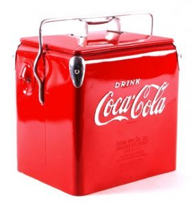 Coca Cola Cooler 1950's By Acton
