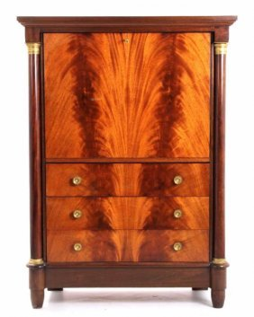 Empire Style Belgium Liquor Cabinet 19th Century