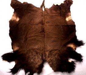 Great American Buffalo Tanned Hide Rug