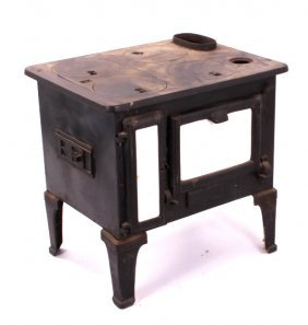 Antique Cast Iron Sheep Herder Stove
