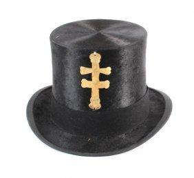 Meskwaki Beaver Top Hat North West Co Silver Cross