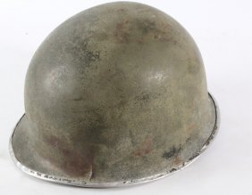 Us Army Paratrooper Fixed Bail Wwii Helmet