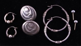 Sterling Silver Earring Collection