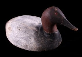 Great Lakes Canvasback Drake Duck Decoy