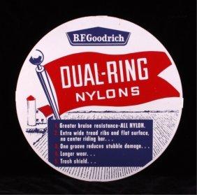 1950's Bf Goodrich Tire Advertising Sign