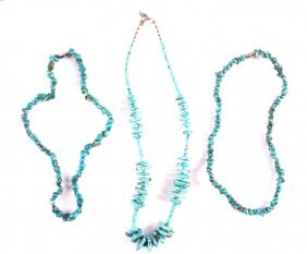 Navajo Turquoise Necklace Collection