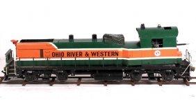 "Live Steam Gas 7.5"" Gauge Locomotive Railroad Or&w"
