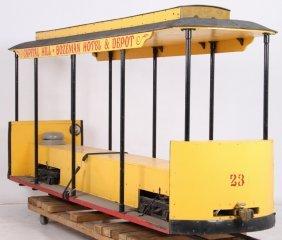 "Bozeman Capitol Hill Trolley 7.5"" Gauge Railroad"