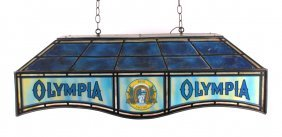 Olympia Beer Billiard Light
