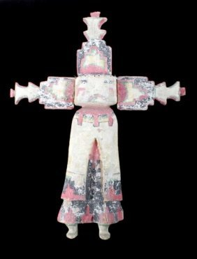 Hopi Polychrome Cottonwood Kachina Doll C. 1900