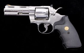 Colt Python 357 Mag Stainless Stainless New In Box