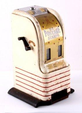 Northwestern Art Deco Coin Op Stamp Machine