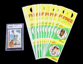 Don Mattingly Rookie & Topps 1981 Squirt Cards