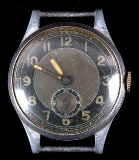 Wwii Nazi Wehrmacht Army Serviceman's Watch