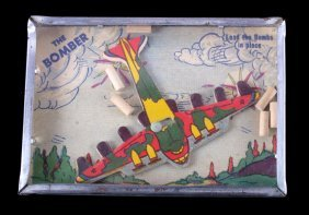 Wwii Era Bomber Child's Dexterity Puzzle