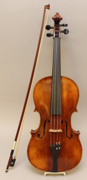 Anton Schroetter Viola And Bow