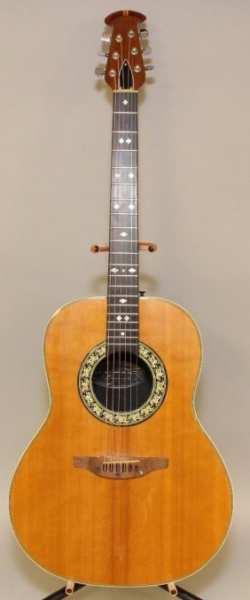 Ovation 1112-4 Custom Balladeer Acoustic Guitar