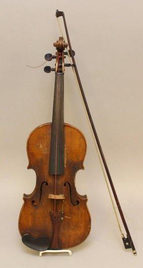 Copy Of Antonius Stradiuarius Violin With Bow