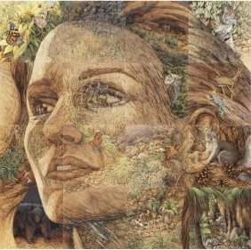 BEV DOOLITTLE (American, 20th C.)