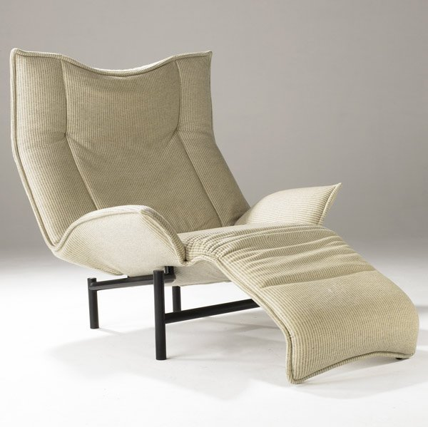 687 VICO MAGISTRETTI VERANDA LOUNGE CHAIR Lot 687