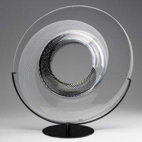 LINO TAGLIAPIETRA; Saturno Sculpture