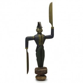 FRENCH SOLDIER WHIRLIGIG