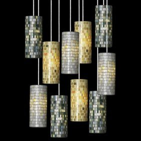 ITALIAN; Ten Pendant Lamps