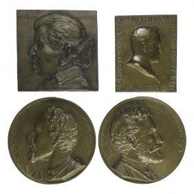 Bronze Plaques & Medallions Of Immigrants