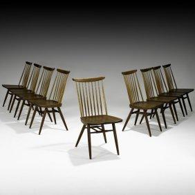 GEORGE NAKASHIMA Nine New Sidechairs