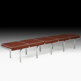 JOHN BEHRINGER Five-seat Bench