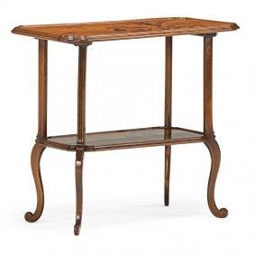 Emile Galle Art Nouveau Side Table