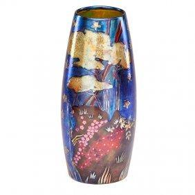 Rippl-ronai; Zsolnay Fine Large Vase