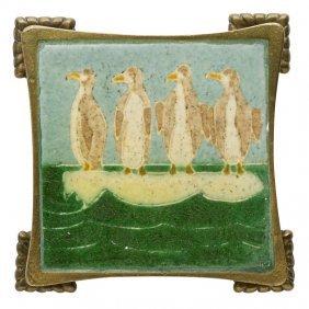 Grueby Framed Trivet