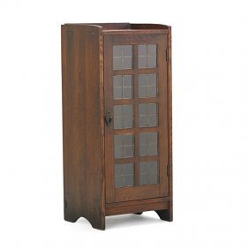 Gustav Stickley Music Cabinet
