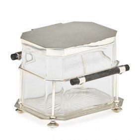 Christopher Dresser; Hukin & Heath Biscuit Box