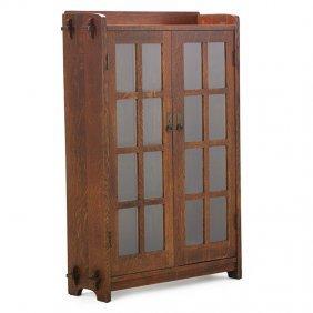 L. & J.g. Stickley Double-door Bookcase