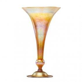 Tiffany Studios Large Favrile Glass Vase
