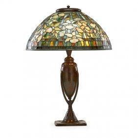 Tiffany Studios Fine Daffodil Table Lamp